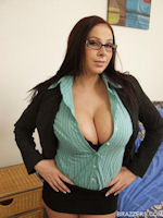 Gianna Michaels Brazzers Business Suit