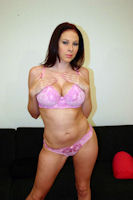 Gianna Michaels Brazzers Pink Lingerie